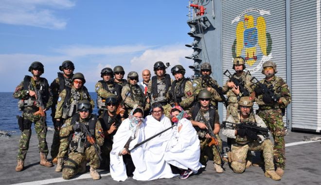 """Foto: Fregata """"Regele Ferdinand"""", misiuni  de supraveghere în Marea Mediterană"""