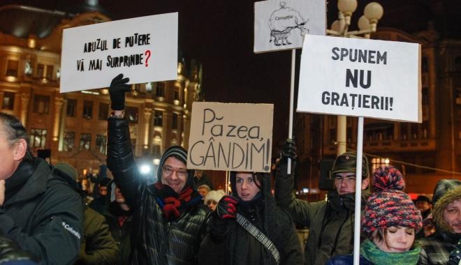 "Foto: Gabriel Leş: ""Îi respect pe protestatari"""
