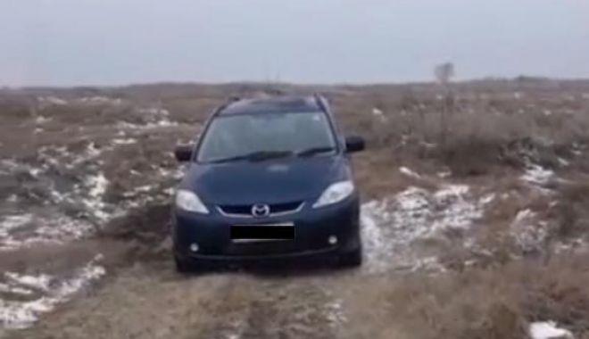 Foto: Bărbat dat dispărut, găsit mort în maşină