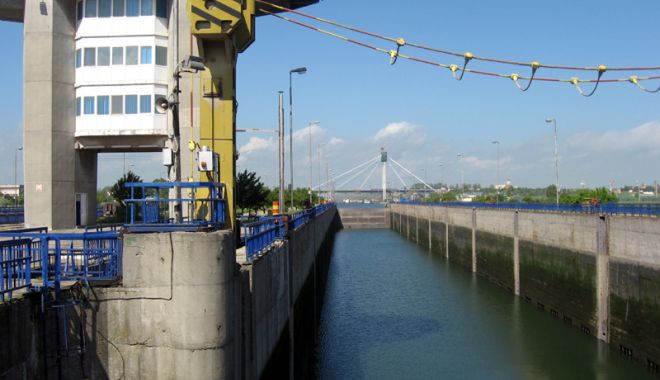 Foto: Modernizarea ecluzelor canalelor navigabile a obținut finanțarea pentru faza a II-a