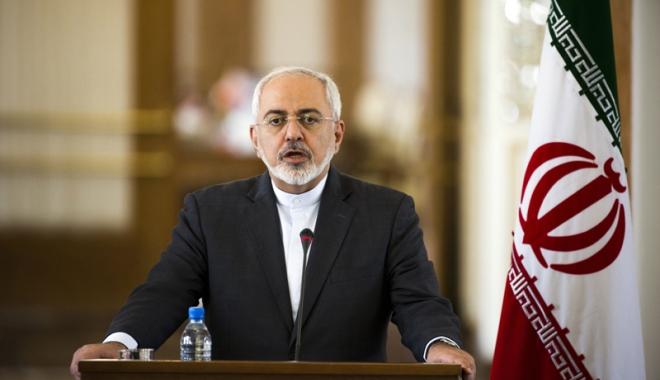 Foto: Șeful diplomației iraniene, invitat la Bruxelles  pentru discuții despre protestele din țara sa