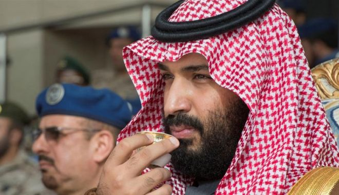 Foto: Prinţul moştenitor al Arabiei Saudite acuză Iranul de exploziile din Golful Omanului