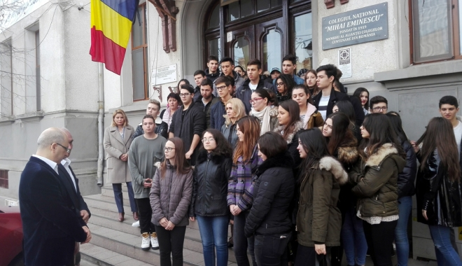 Moment de reculegere în memoria Regelui Mihai, la Colegiul