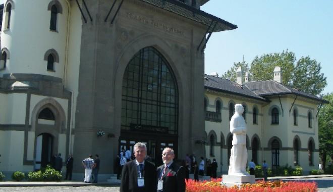 """Foto: Moment important pentru universităţile """"Ovidius"""" şi """"Andrei Şaguna"""""""