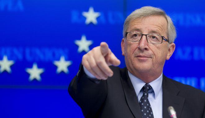 Foto: Moment istoric. Ultimul discurs  al lui Jean-Claude Juncker,  în plenul Parlamentului European