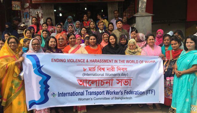 Foto: Moment istoric în lupta de eradicare a violenței și a hărțuirii femeilor la muncă