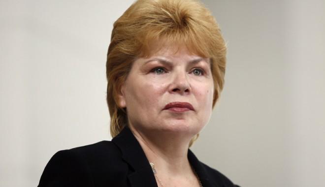 Foto: Mona Pivniceru, noul ministru al Justiţiei