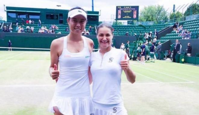 Foto: Tenis / Monica Niculescu și Hao-Ching Chan au pierdut finala de dublu de la Wimbledon