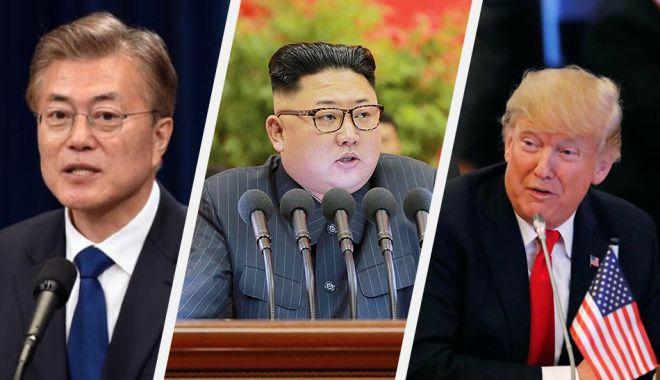 Foto: Moon Jae-in cere o reluare rapidă a discuţiilor dintre Washington şi Phenian