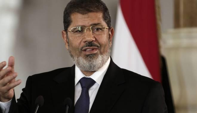 Foto: Fostul preşedinte al Egiptului, Mohamed Morsi, condamnat la moarte