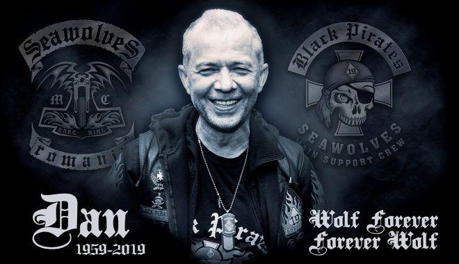 """Foto: A murit unul dintre cei mai cunoscuţi bikeri din Constanţa. """"Un lup veteran…"""""""