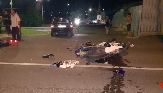 Galerie foto. Bărbatul care l-a lovit mortal pe motociclistul fără permis, de la Valu Traian, arestat - motociclist4-1534501893.jpg
