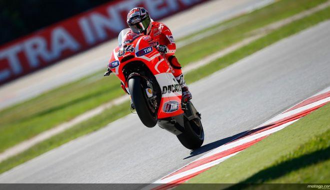 Foto: Andrea Dovizioso a câştigat Marele Premiu al Qatarului, la Moto GP