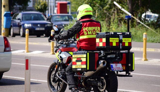Foto: Motocicletele SMURD, lăudate de Raed Arafat. Constanța, dată exemplu!