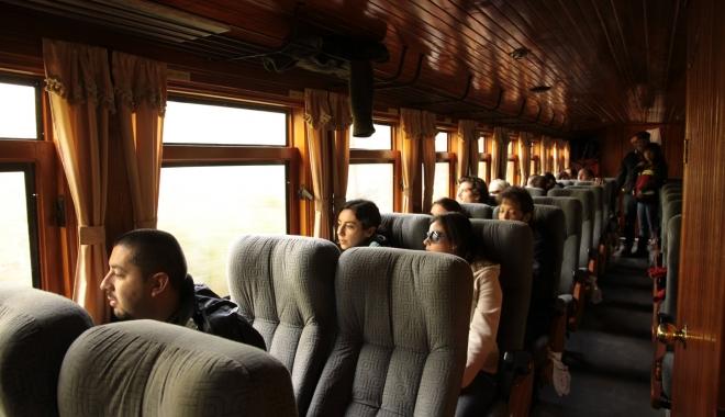 Foto: Studenţii vor călători gratuit cu trenul începând cu 1 februarie