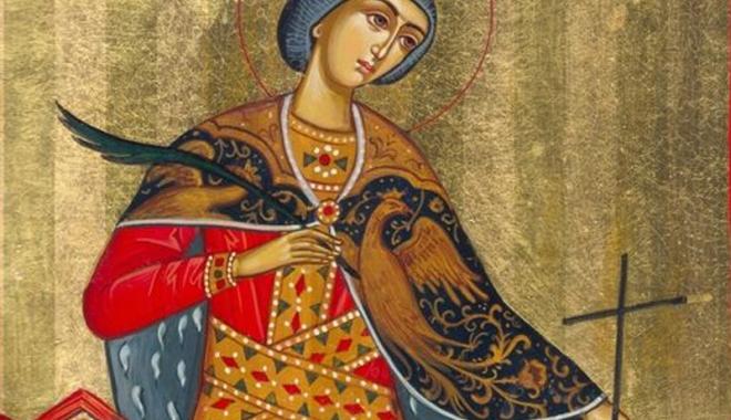 Foto: Sfânta Mare Muceniţă Ecaterina,  la rang de cinste  săptămâna aceasta