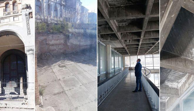 Foto: Se mai reabilitează Edificiul Roman cu Mozaic?