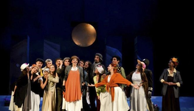 """Foto: """"My fair Lady"""", pe scena Teatrului """"Oleg Danovski"""""""