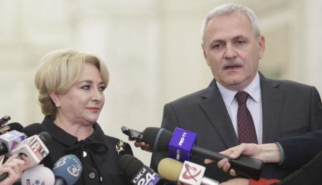 Foto: Dăncilă, alături de Dragnea: În 2019 îmi doresc să avem preşedintele României un preşedinte PSD