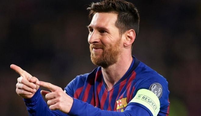 """Foto: Lionel Messi """"a făcut un meci incredibil"""". Barcelona visează la trofeu, după prestația argentinianului"""