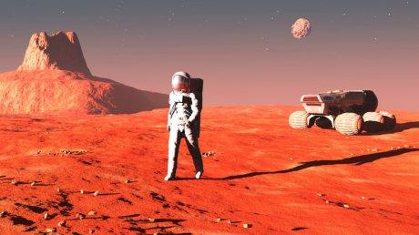 Foto: NASA a anunţat data la care va trimite primul om pe Marte
