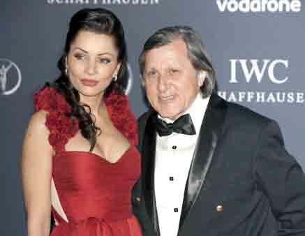 Foto: Ţiriac, sceptic în privinţa  căsniciei lui Ilie Năstase cu Brigitte