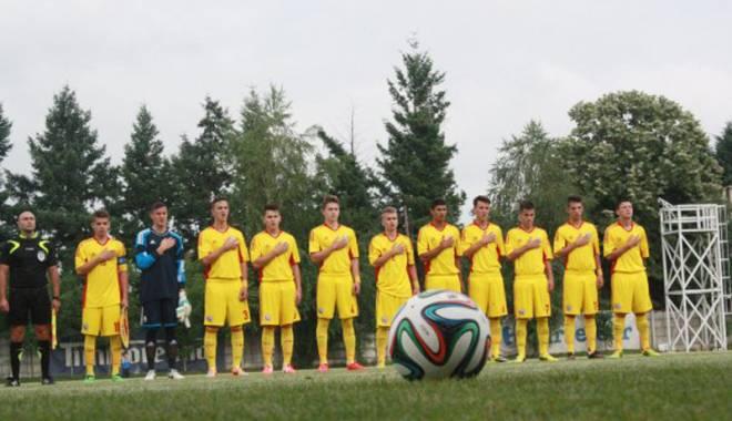 Foto: Naţionala U17 a României a pierdut amicalul cu Franţa