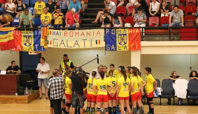 Foto: Handbalistele U19 atacă podiumul la Campionatul European