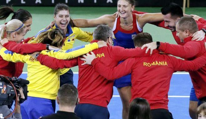 Foto: Naţionala de Fed Cup a României va întâlni Elveţia, în barajul Cupei Mondiale