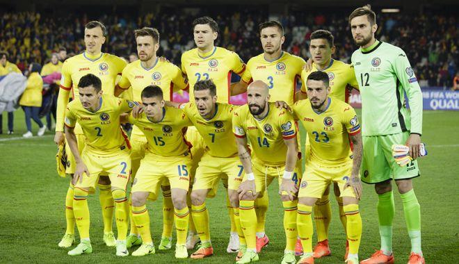 Foto: Naţionala României, locul 36 în clasamentul FIFA