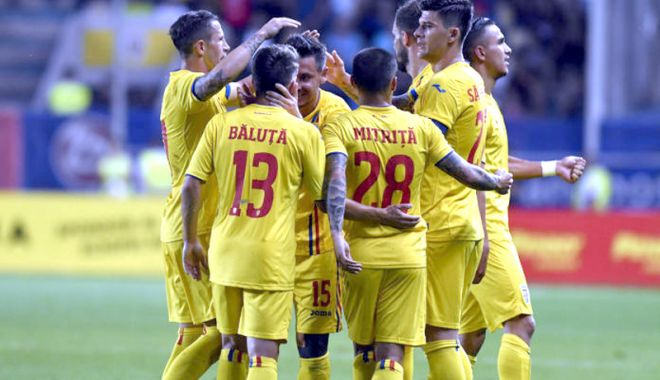 Foto: Naţionala României a urcat două poziţii în ierarhia FIFA