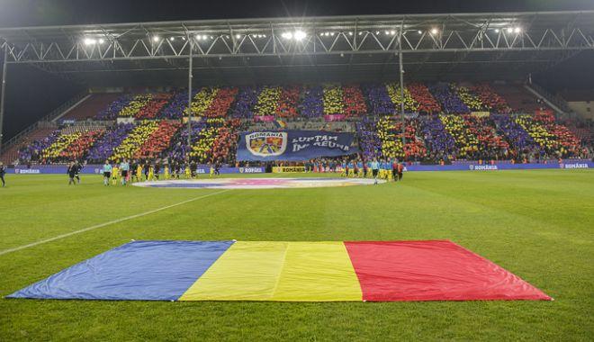 Foto: Naţionala de tineret joacă meciul decisiv  cu Ţara Galilor la Cluj