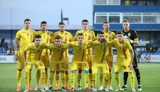 Foto: Naţionala de tineret atacă Europenele cu cinci jucători de la FC Viitorul