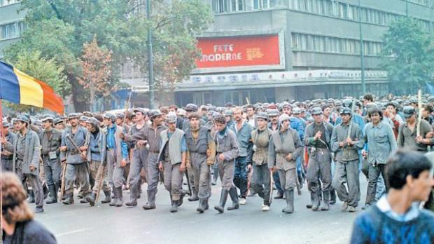 Foto: Începe procesul în dosarul Mineriada 13-15 iunie 1990. Dezbaterile nu sunt publice