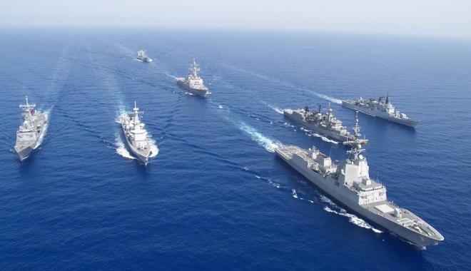 Foto: NATO sporeşte prezenţa navală în Marea Neagră, prin crearea unei unităţi speciale