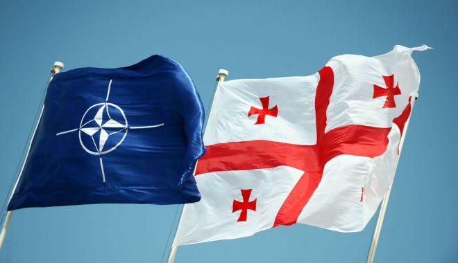 Foto: Apărarea la Marea Neagră. Declaraţii Mihai Fifor, în Comisia NATO-Georgia