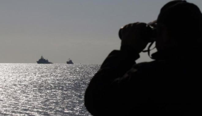 Foto: Naufragiu în Marea Neagră: La bordul navei se aflau 12 marinari
