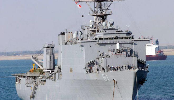 Foto: Navă de asalt americană, trimisă de SUA în Marea Neagră