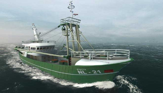Foto: Nava fără echipaj va fi lansată la apă până în anul 2025