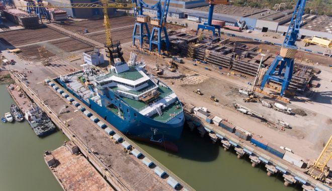 "Foto: Nava de semnalizare ""Concordia EU 2019"" a primit botezul"