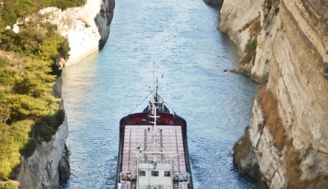 Foto: O navă care a plecat din portul Constanţa s-a scufundat pe coasta Bulgariei