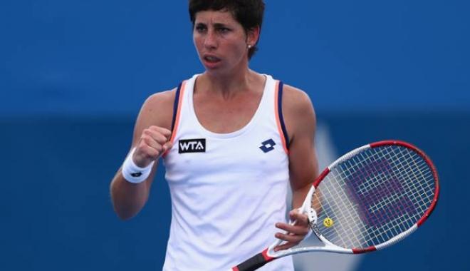 Foto: Tenis / Carla Suarez Navarro, calificată în optimile de finală ale turneului BRD Bucharest Open