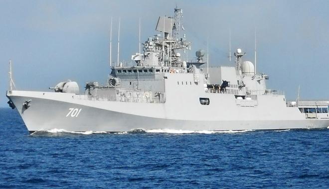 Foto: Rusia a mai trimis o navă de luptă în Mediterana