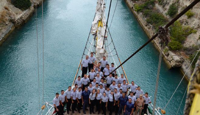 """Foto: Spiritul """"Mircea"""", pentru a doua oară în porturile Muntenegrului"""