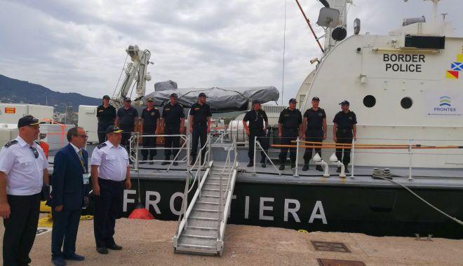 Polițiștii de frontieră constănțeni, aflați în misiune în Grecia - lăudați! - navasursapolitiadefrontiera-1592149872.jpg