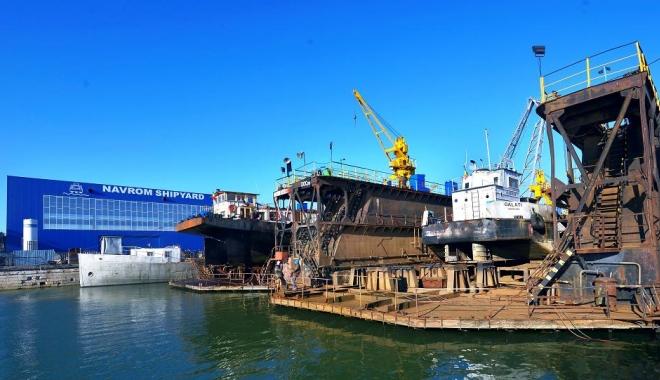 Foto: Navrom Shipyard Galați va construi o navă tanc pentru CNAPMC