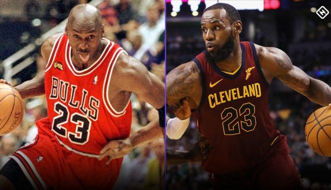 Foto: LeBrom James l-a egalat pe Michael Jordan la puncte marcate în NBA