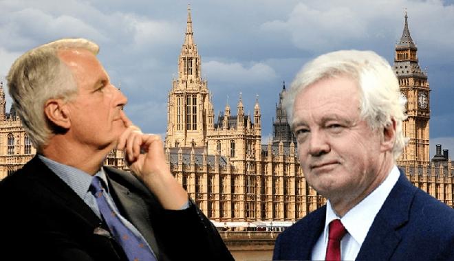 Foto: Negocierile dintre Marea Britanie şi Uniunea Europeană, lansate oficial la Bruxelles