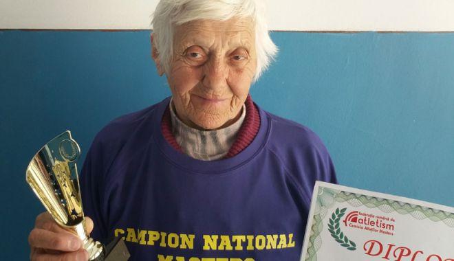 Foto: Veronica Negreanu, cea mai rapidă sportivă printre veterani