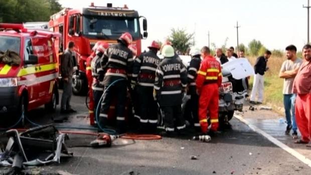 Foto: TRAGEDIA ZILEI! Bebeluşul rănit în accidentul provocat de un preot, pe Autostrada Soarelul, a murit
